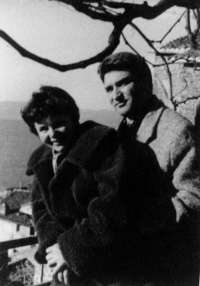 Logothetis with his wife (1957)